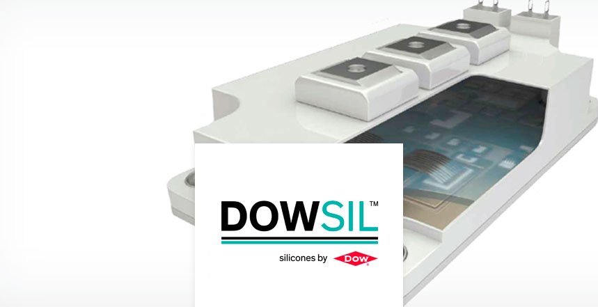 Dielectric gels for potting and protecting PCB & power modules
