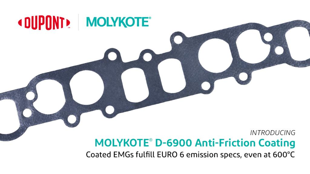 MOLYKOTE® D-6900 Anti-Friction Coating port