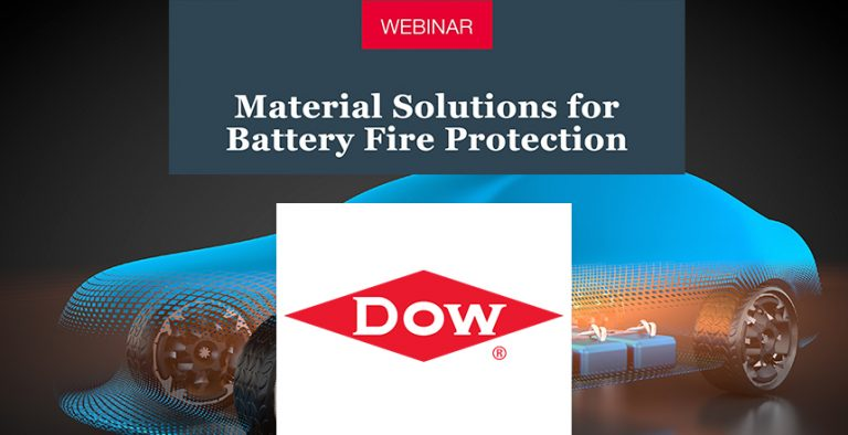 Webinar Material Solutions for Battery Fire Protection Dow