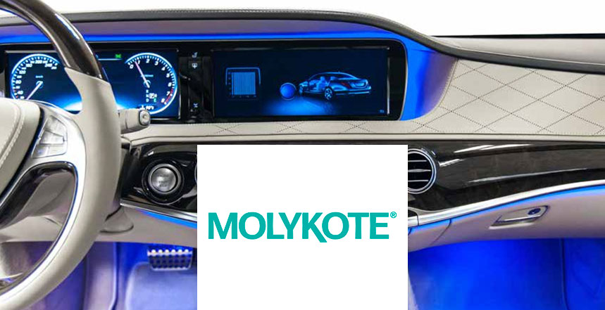 Smart Lubrication™ for vehicle electrical systems from Molykote