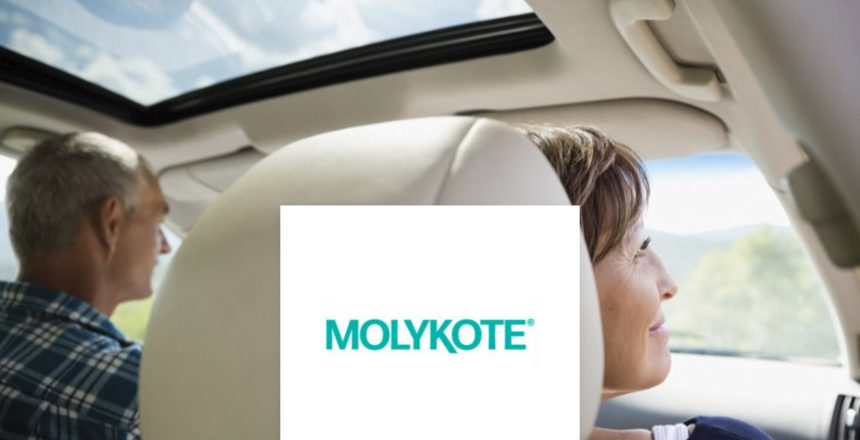 Sunroof Guide Lubrication With MOLYKOTE Specialty PAO Grease